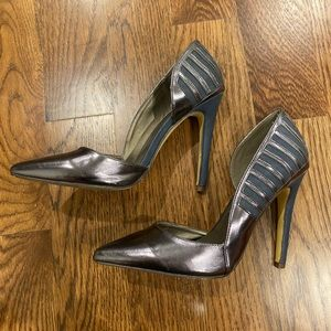 Michael Antonio Metallic Heel